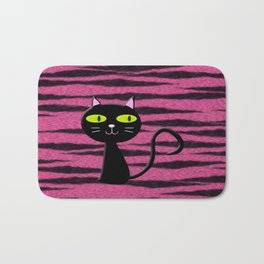 tiger kitty Bath Mat