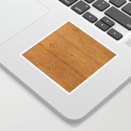 The Cabin Vintage Wood Grain Design Sticker