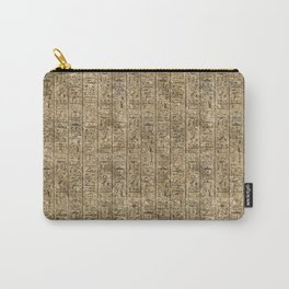 Egyptian Hieroglyphics Carry-All Pouch