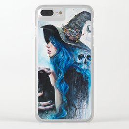 Blue Valentine Clear iPhone Case