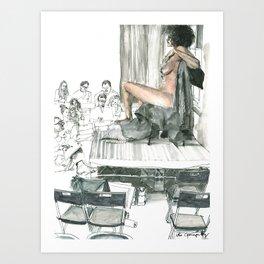Figure Drawing, 104 Art Print
