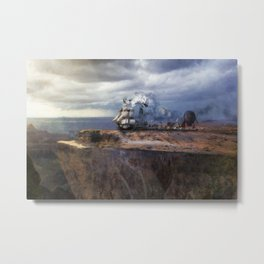 Prepare For Takeoff Metal Print