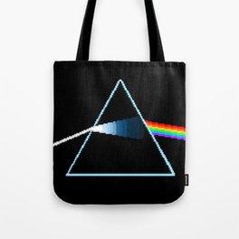 Dark Side Moon Pix-elated Tote Bag