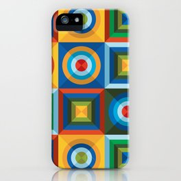 Rings&Squares iPhone Case