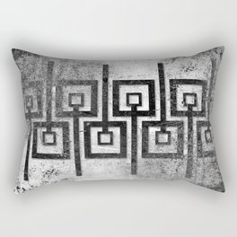 Order in Abstract IV Rectangular Pillow