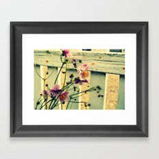 Last in the season Framed Art Print