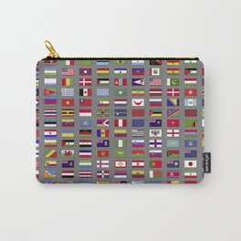 Nations united Carry-All Pouch