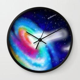 Cosmic Gateway Wall Clock