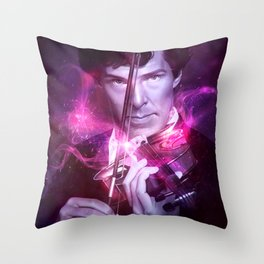His Last Bow Throw Pillow