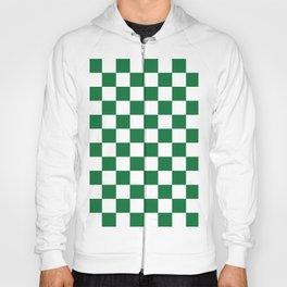 Checkered (Dark Green & White Pattern) Hoody
