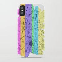 tv iPhone & iPod Cases featuring TVs by cuquetafera