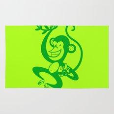 Green Monkey Rug