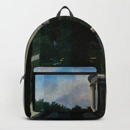 White House Lantern Slide Remastered Backpack