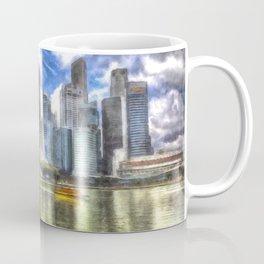 Singapore Marina Bay Sands Art Coffee Mug