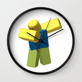 COOLEST ROBLOX DAB Wall Clock