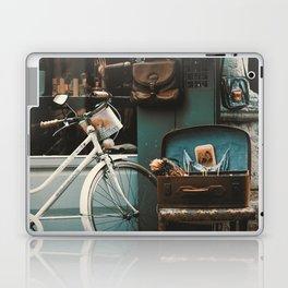 Vintage Street Scene in Istanbul Laptop & iPad Skin