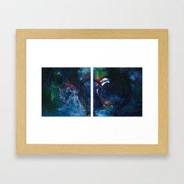 Coping Mechanism Framed Art Print