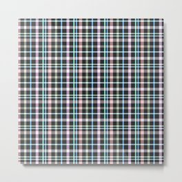 A simple checkered pattern . Metal Print