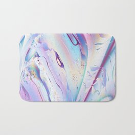 Flight Plan Abstract Fractal Art Bath Mat