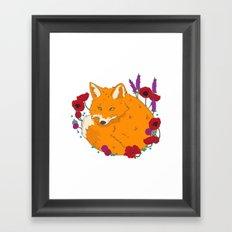 Wildfox Framed Art Print