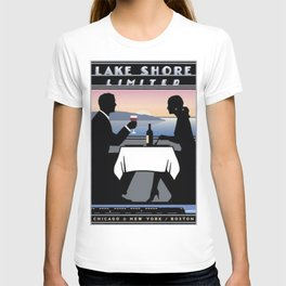 Vintage poster - Lake Shore Limited T-shirt