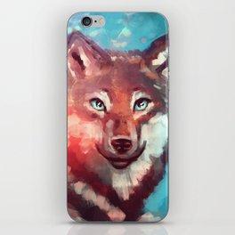Wolf - Stare - Wanderlust iPhone Skin