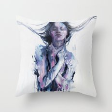 non erano le mie mani Throw Pillow