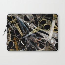 Vintage Scissors Laptop Sleeve