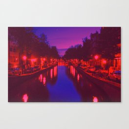 Psychedelic Amsterdam Canvas Print