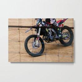 Dirt'n Metal Print