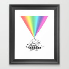 Creating magic Framed Art Print
