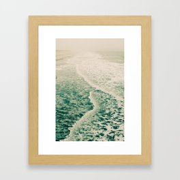 Beautiful Summer Sea Framed Art Print