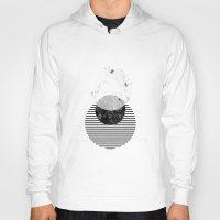 minimalism Hoodies featuring Minimalism 9 by Mareike Böhmer