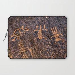 Desert Rock Art - Petroglyphs I Laptop Sleeve