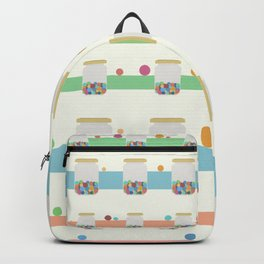 Jar of sweets Backpack