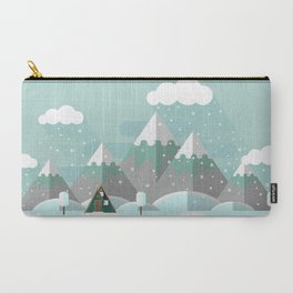 A Frame in the Mountains Carry-All Pouch