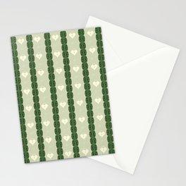 Green Locket Stationery Cards