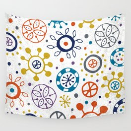 Doodle Organic Wall Tapestry