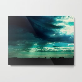 Morning Storm-Iowa Metal Print