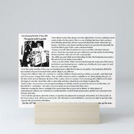 Good Wife's Guide Mini Art Print