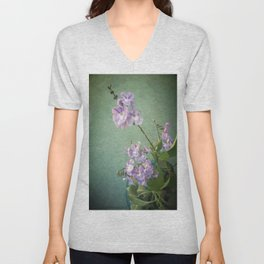 Purple Geishas Unisex V-Neck