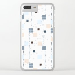 Be There or Be Square Clear iPhone Case