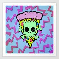 Bootleg Bart Art Print