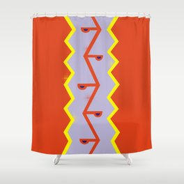 S N A K E Shower Curtain