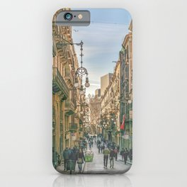 Gothic District, Barcelona - Spain iPhone Case