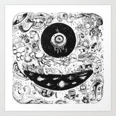 Inktober 2015 Art Print