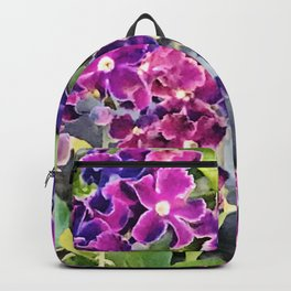 Tiny Gifts From Heaven: Pink & Purple Angel Flowers Backpack