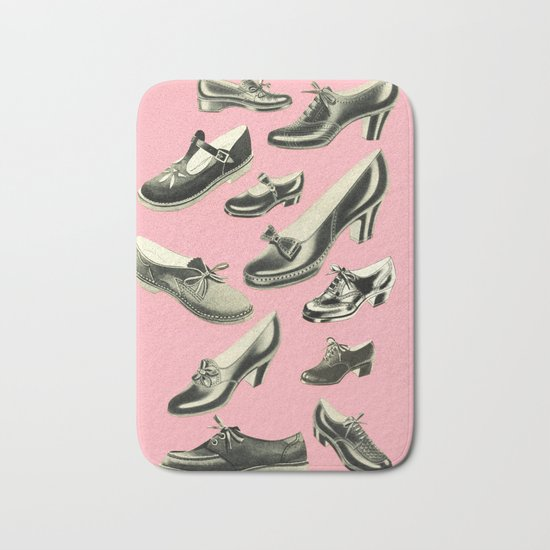 Shoe Fetish Bath Mat