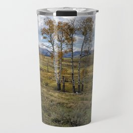 Lamar Valley in the Fall - Yellowstone Travel Mug