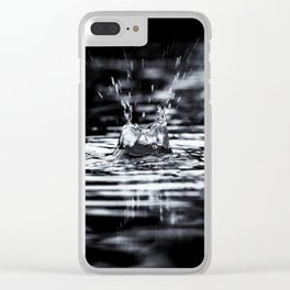 Summer Storms Clear iPhone Case